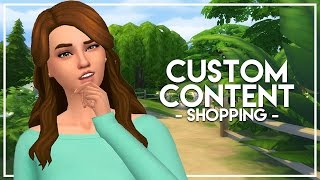 The Sims 4: Custom Content Shopping - Maxis Match!