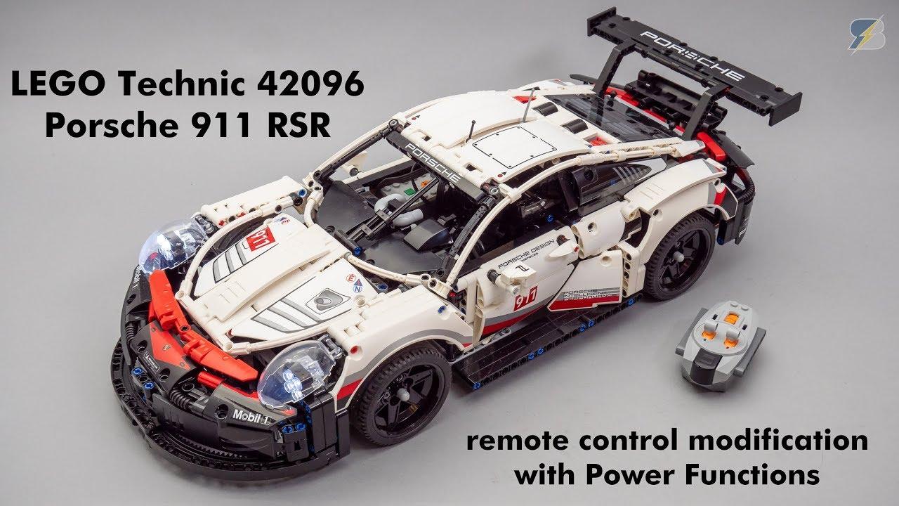 Lego Technic 42096 Porsche 911 Rsr Motorization With Power Functions