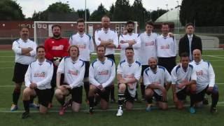 Comedians XI vs Spencer FC's Hashtag United
