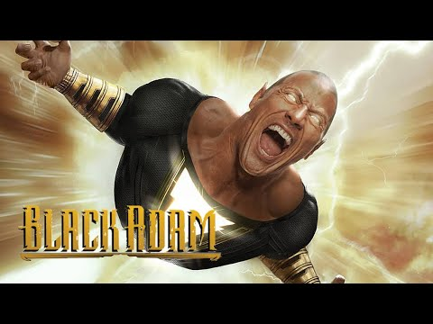Shazam Black Adam Teaser - Justice League and Justice Society Easter Eggs Breakdown