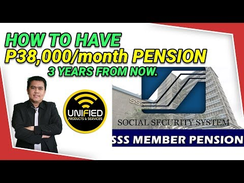 Видео: How To Have P38,000/month Pension sa Unified 3 Years from now?