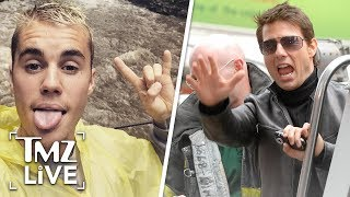 Justin Bieber Backs Down From Fight With Tom Cruise | TMZ Live
