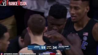 Zion Williamson Duke vs Notre Dame - Highlights | 1.28.19 | 26 Pts, 4 Blocks!