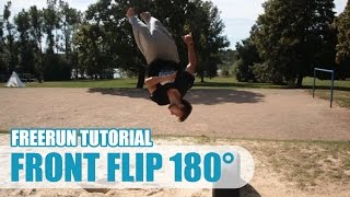 Front Flip 180° Tutorial CZ | Taras