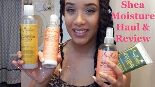 Shea Moisture Haul & Review