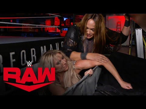 Nia Jax attacks Charlotte Flair's arm: Raw, June 22, 2020