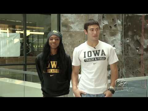 University of Iowa Track And Field Facilities Tour