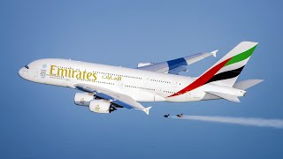 Emirates A380 and Jetman Dubai Formation Flight | Emirates Airline