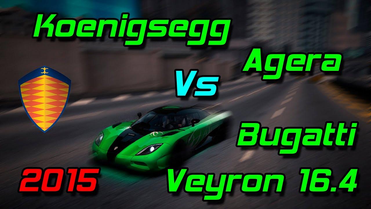 nfs world koenigsegg agera vs bugatti veyron 16 4 youtube. Black Bedroom Furniture Sets. Home Design Ideas
