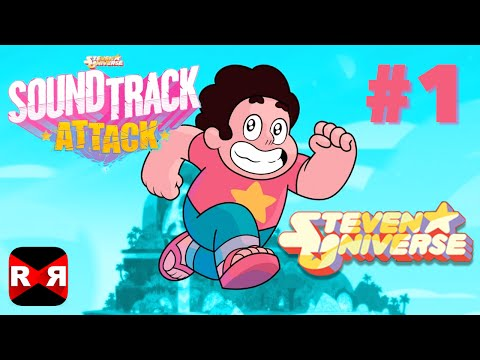 Soundtrack Attack - Steven Universe Rhythm Runner - iOS / Android - Gameplay Video Part 1