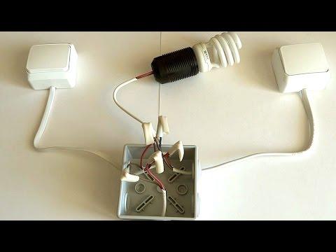 Проходной выключатель - своими руками!