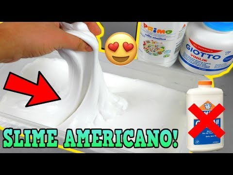 SLIME PERFETTO AMERICANO FATTO CON COLLA GIOTTO?! (SLIME THICK E GLOSSY) Iolanda Sweets