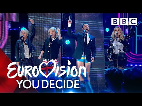 Måns Zelmerlöw recreates the UK's greatest Eurovision moments! - BBC