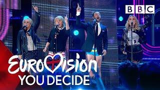 Måns Zelmerlöw recreates the UK's greatest Eurovision moments! - BBC thumbnail