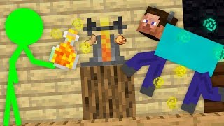 MONSTER SCHOOL : BREWING CREEPER CHALLENGE - Funny Minecraft Animation