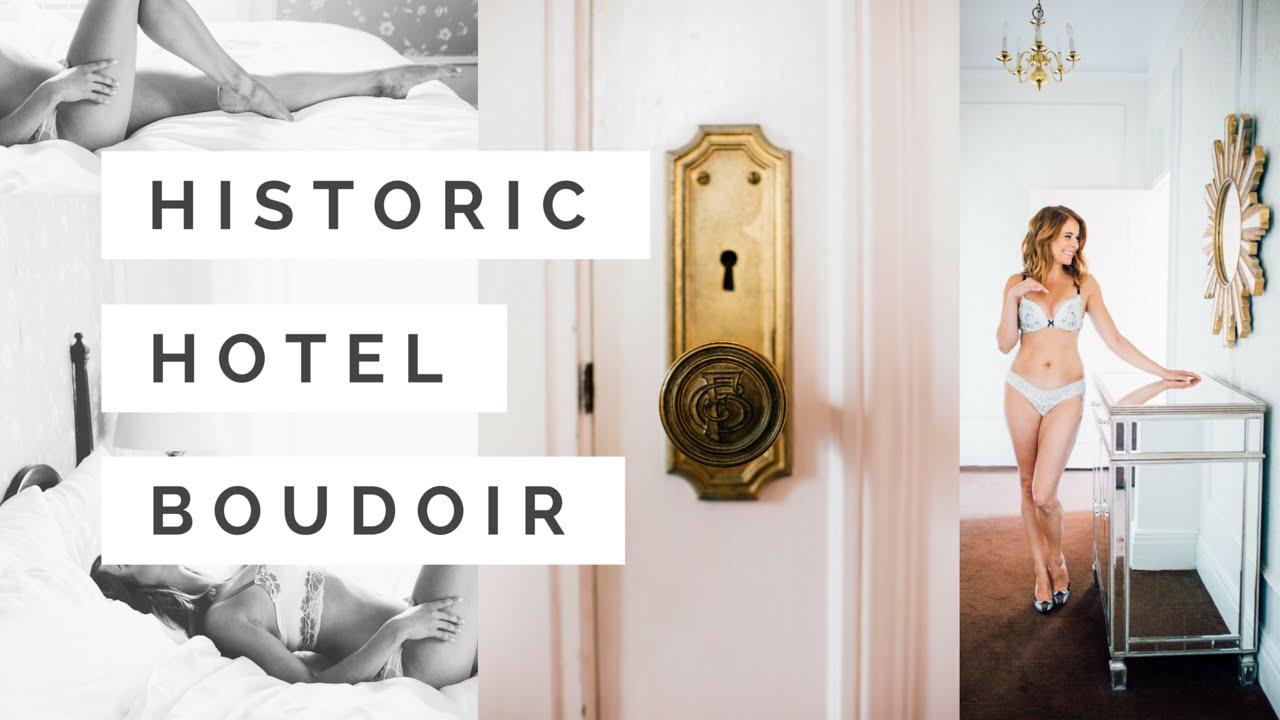 Shooting boudoir in a historic hotel youtube for Boudoir hotel