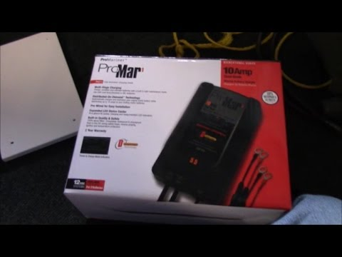 How to install an on-board boat battery charger Xps Battery Charger Wiring Diagram on
