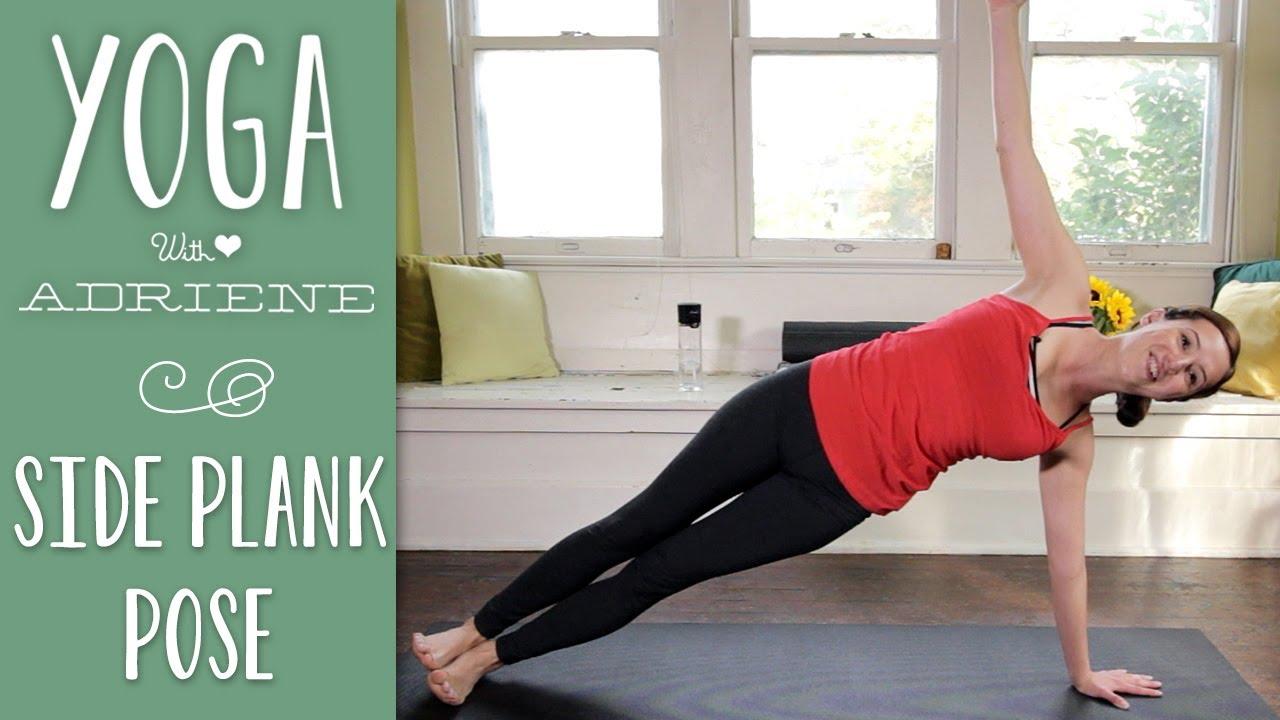 Side Plank Pose Vasisthasana Youtube
