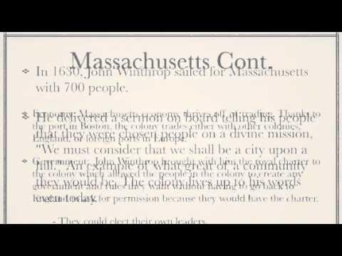 APUSH - New England Colonies