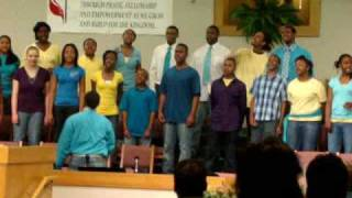New Destiny Youth Choir singing Pass Away