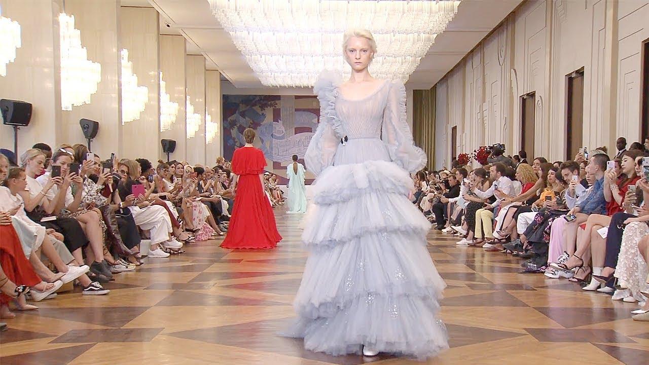 Ulyana Sergeenko   Haute Couture Fall Winter 2018/2019 Full Show   Exclusive 7