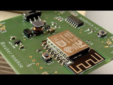 soldering of the Minibrick PCB v1.0