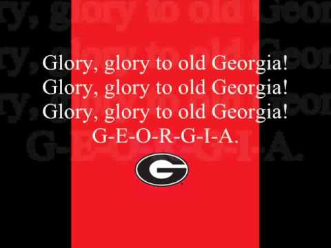 """Glory"" Georgia Bulldogs Fight Song"
