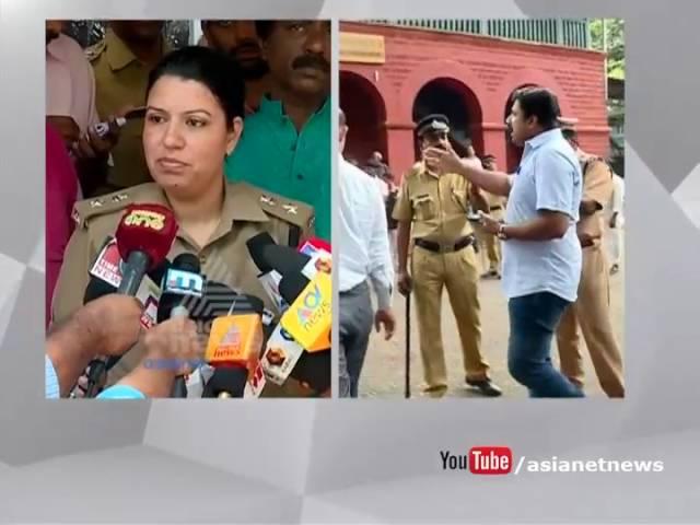 Kozhikode Commissioner Uma Behra responds on police arrest journalists from Kozhikode Dist court