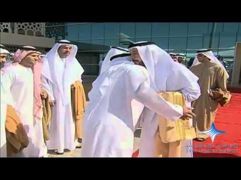 خليفة يغادر إلى باكستان ومحمد بن راشد في مقدمة مودعيه
