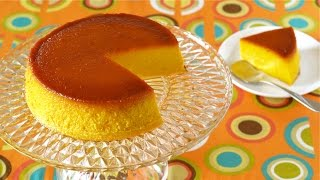 Kabocha Purin Cake For Halloween (pumpkin Pudding) ハロウィンにかぼちゃプリンケーキ - Ochikeron - Create Eat Happy