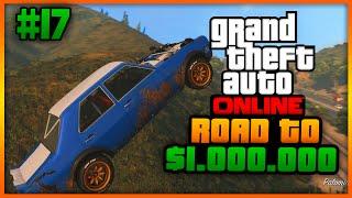 """Road To $1.000.000 #17 """"ONVERKLAARBARE GEBEURTENISSEN!"""" (Grand Theft Auto 5 Online)"""