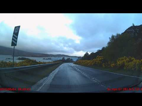 Somewhere in Skye to Loch Carnan on Uist.