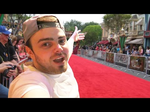 I'm on the RED CARPET!