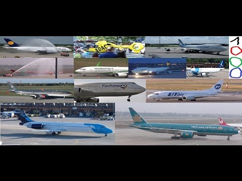 The best of 1000 movies (Boeing 717 737 747 777) (Airbus A310 A330 A380) MD-83
