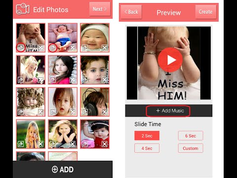 How to Make  from Photos in Android Phone