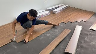 Techniques Construction Bedroom Floor With Wood & How To Install Wooden Floors Step By Step