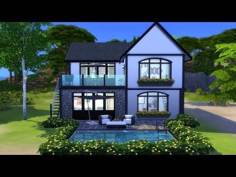 THE SIMS 4: HOUSE BY THE WATER // NO CC thumbnail