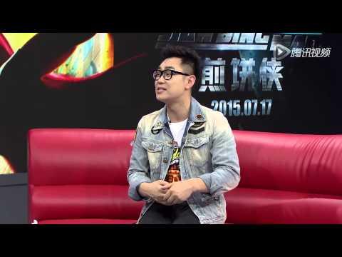 [ENG CC] 150705 - Da Peng discusses filming Challengers Union with Fan BingBing, Kris Wu