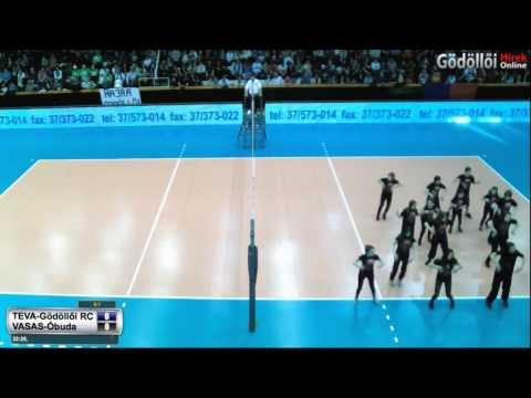Röplabda női Magyar kupa döntő TEVA Gödöllő-VASAS