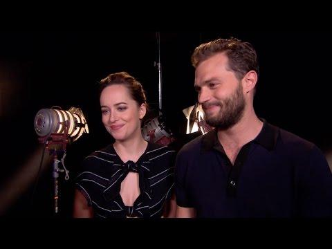 Dakota Johnson and Jamie Dornan's interview with red.tv (Prosieben) Germany for Fifty Shades Darker