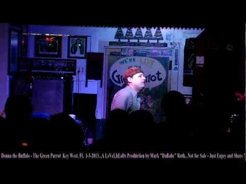 Donna the Buffalo Entire Show – Green Parrot  Key West, Fl.  1-3-2013