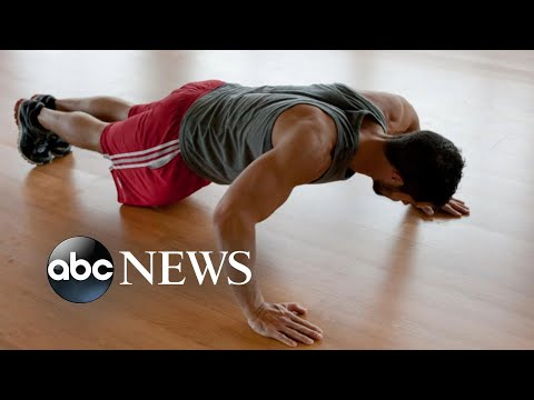 More than 40 pushups linked to lower heart disease risk for some