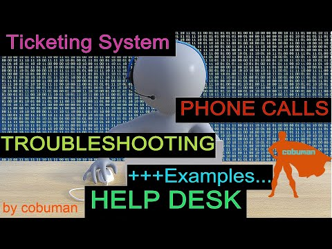 The Best HELP DESK Guide for Beginners; with PHONE CALLS and TROUBLESHOOTING