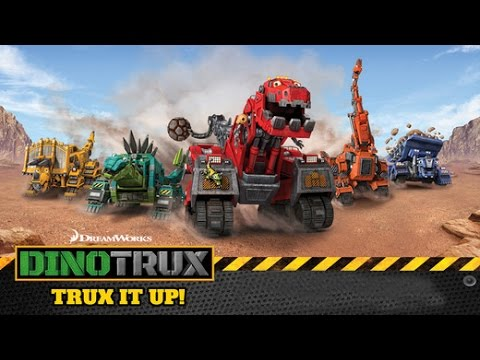เกมส์ หุ่นยนต์ : ไดโนเสาร์ , รถบรรทุก , รถยกและ รถดันดิน สำหรับเด็ก