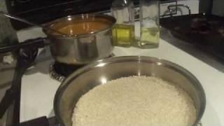 """como hacer agua de horchata,con arroz tostado """"la mejor horchata"""" By:suzy"""