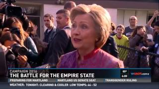 Clinton Supporter Changes Mind in Voting Booth: 'I Want More Change Than What She Could Provide'