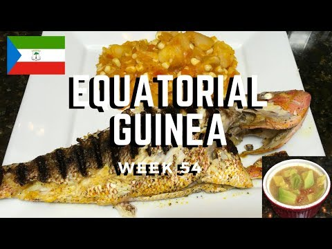 Second Spin, Country 54: Equatorial Guinea [International Food]