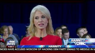 Repeat youtube video Kellyanne Conway Interview Sean Hannity at CPAC