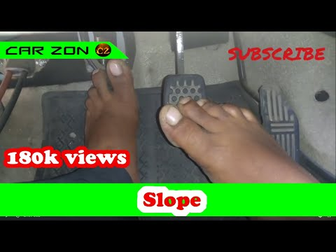 How to move a car in slope (Tamil)