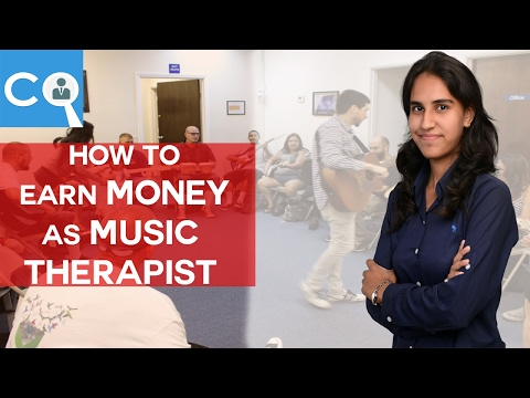 How to earn money as MUSIC THERAPIST